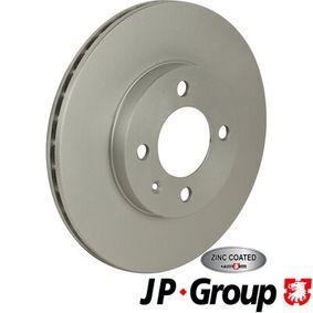 Bremsscheibe JP GROUP Art.No - 1163111000 OEM: 6N0615301D für VW, MERCEDES-BENZ, AUDI, SKODA, SEAT kaufen