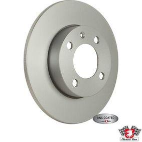 Bremsscheibe JP GROUP Art.No - 1163112000 OEM: 811615301 für VW, AUDI, FIAT, SKODA, SEAT kaufen