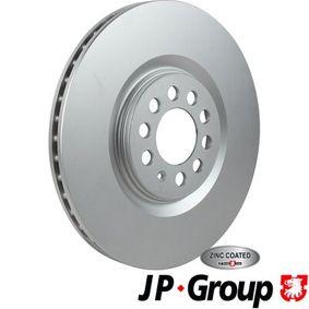 Bremsscheibe JP GROUP Art.No - 1163112500 OEM: 6R0615301B für VW, AUDI, SKODA, SEAT, ALFA ROMEO kaufen