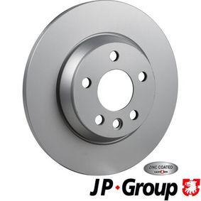 Bremsscheibe JP GROUP Art.No - 1163202400 OEM: 7D0615601A für VW, AUDI, SKODA, SEAT, PORSCHE kaufen