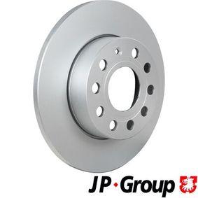 Bremsscheibe JP GROUP Art.No - 1163205800 OEM: 1K0615601L für VW, AUDI, SKODA, SEAT, PORSCHE kaufen