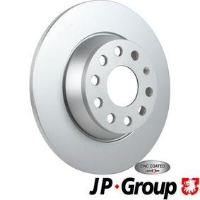 Спирачен диск JP GROUP Art.No - 1163205900 OEM: 1K0615601AD за VW, AUDI, MAZDA, SKODA, SEAT купете