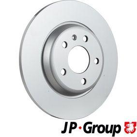 Bremsscheibe JP GROUP Art.No - 1163207900 OEM: 8K0615601M für VW, AUDI, SKODA, SEAT kaufen