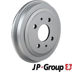 Bremstrommel JP GROUP Art.No - 1163501800 OEM: 4373614 für FIAT, ALFA ROMEO, LANCIA, LADA, ZASTAVA kaufen