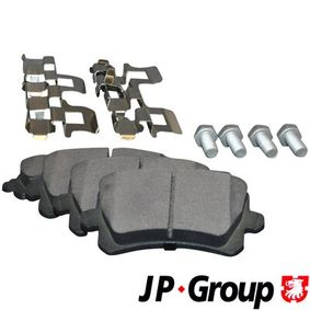 JP GROUP Bremsbelagsatz, Scheibenbremse 1K0698451D für VW, AUDI, FORD, SKODA, SEAT bestellen