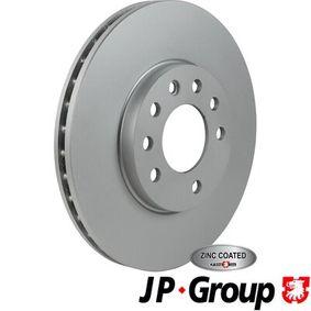 Bremsscheibe JP GROUP Art.No - 1263105200 OEM: 9117678 für OPEL, CHEVROLET, SUBARU, CADILLAC, ISUZU kaufen