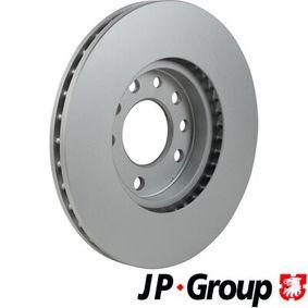 JP GROUP Bremsscheibe 9117678 für OPEL, CHEVROLET, SUBARU, CADILLAC, ISUZU bestellen