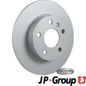 Bremsscheibe JP GROUP Art.No - 1263202500 OEM: 9117772 für OPEL, CHEVROLET, DAEWOO, CADILLAC, ISUZU kaufen