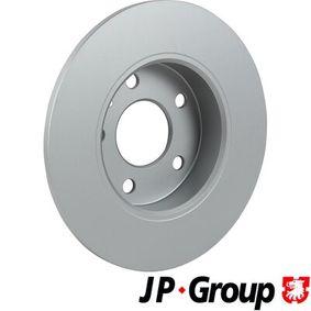JP GROUP Bremsscheibe 9117772 für OPEL, CHEVROLET, DAEWOO, CADILLAC, ISUZU bestellen