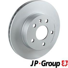Bremsscheibe JP GROUP Art.No - 1363106700 OEM: A6384210112 für MERCEDES-BENZ kaufen