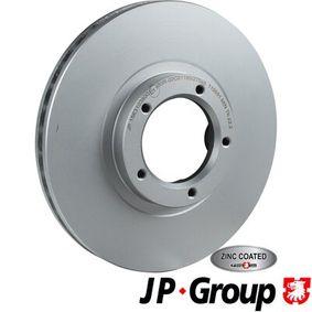 Bremsscheibe JP GROUP Art.No - 1563103800 OEM: 5029815 für FORD, FORD ASIA / OCEANIA kaufen