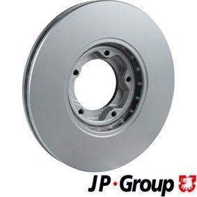 JP GROUP Bremsscheibe 5029815 für FORD, FORD ASIA / OCEANIA bestellen