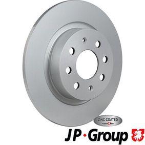 JP GROUP Aviso desgaste forro de frenos 3363200300