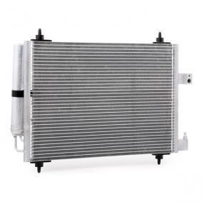 Kondensator, Klimaanlage VAN WEZEL Art.No - 40005286 OEM: 6455CP für PEUGEOT, CITROЁN, VOLVO, PIAGGIO, DS kaufen