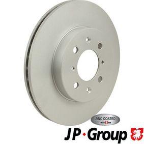 Спирачен диск JP GROUP Art.No - 3463100300 OEM: SDB100600 за HONDA, SKODA, ROVER, MG, ACURA купете