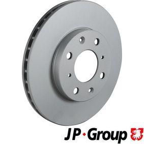 JP GROUP Комплект спирачни дискове 3463101200