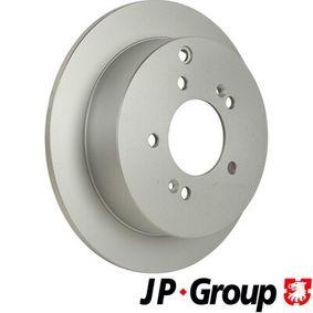 Bremsscheibe JP GROUP Art.No - 3563200100 OEM: 584113A300 für HYUNDAI, KIA kaufen