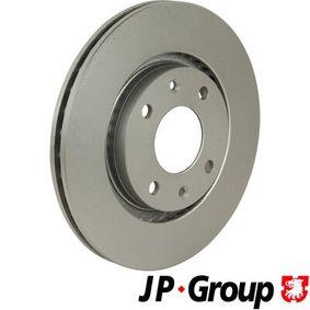 Bremsscheibe JP GROUP Art.No - 4163103100 OEM: 4249G1 für PEUGEOT, CITROЁN, PIAGGIO, DS, TVR kaufen