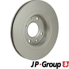 JP GROUP Bremsscheibe 4249G1 für PEUGEOT, CITROЁN, PIAGGIO, DS, TVR bestellen