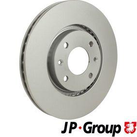 Bremsscheibe JP GROUP Art.No - 4163103200 OEM: E169142 für PEUGEOT, CITROЁN, PIAGGIO, DS, TVR kaufen