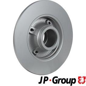 JP GROUP Bremsscheibe 424934 für PEUGEOT, CITROЁN, DACIA, PIAGGIO, TVR bestellen