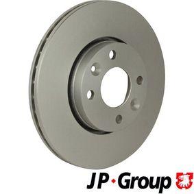 Bremsscheibe JP GROUP Art.No - 4363100800 kaufen