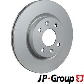 Bremsscheibe JP GROUP Art.No - 4363101900 OEM: 7701204828 für RENAULT, NISSAN, DACIA, DAEWOO, SANTANA kaufen
