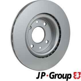 JP GROUP Bremsscheibe 7701204828 für RENAULT, NISSAN, DACIA, DAEWOO, SANTANA bestellen