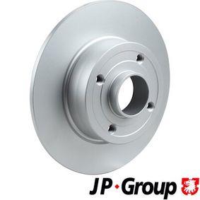 Bremsscheibe JP GROUP Art.No - 4363200800 OEM: 8200038305 für RENAULT, DACIA, RENAULT TRUCKS kaufen