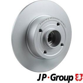 Bremsscheibe JP GROUP Art.No - 4363201300 OEM: 8200038305 für RENAULT, DACIA, RENAULT TRUCKS kaufen