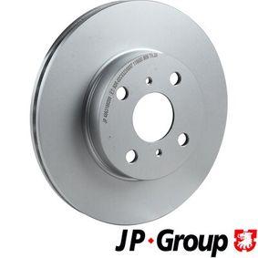 Bremsscheibe JP GROUP Art.No - 4863100200 OEM: 4351212550 für TOYOTA, SUZUKI, CHEVROLET, LEXUS, ISUZU kaufen