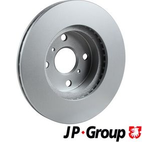 JP GROUP Bremsscheibe 4351212550 für TOYOTA, SUZUKI, CHEVROLET, LEXUS, ISUZU bestellen