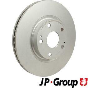 Bremsscheibe JP GROUP Art.No - 4863101900 OEM: 43512YZZAA für TOYOTA kaufen
