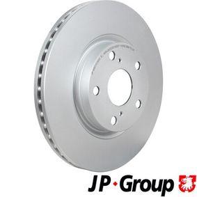 Bremsscheibe JP GROUP Art.No - 4863103600 OEM: 43512YZZAA für TOYOTA kaufen