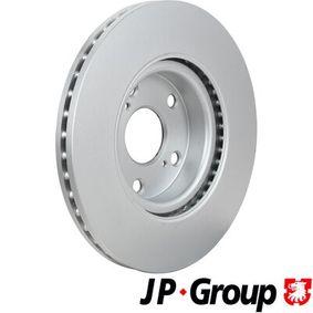JP GROUP Bremsscheibe 43512YZZAA für TOYOTA bestellen