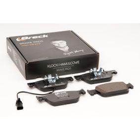 BRECK Kit de plaquettes de frein, frein à disque 8W0698151Q pour VOLKSWAGEN, AUDI, SEAT, SKODA acheter