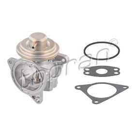 Agr-клапан / всмукателна тръба TOPRAN (115 037) за VW GOLF Цени