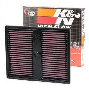 Golf Sportsvan (AM1, AN1) K&N Filters Luftfilter 33-3037