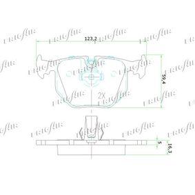 Bremsbelagsatz PD02.512 FRIGAIR