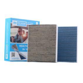Filter, Innenraumluft MASTER-SPORT Art.No - 2533-2-IFB-SET-MS OEM: 64119163329 für MERCEDES-BENZ, BMW, AUDI, MINI, ALPINA kaufen