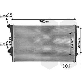 VAN WEZEL Воден радиатор / единични части 58002206