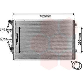 VAN WEZEL Воден радиатор / единични части 58002207