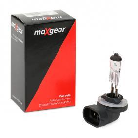 78-0121 Glühlampe, Nebelscheinwerfer von MAXGEAR Qualitäts Ersatzteile
