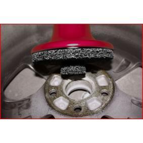 100.5065 Reinigungsscheibe, Reinigungsset-Radnabe von KS TOOLS Qualitäts Werkzeuge