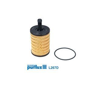 PURFLUX Маслен филтър (L267D) на ниска цена