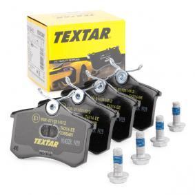 1H0698451H für VW, AUDI, PEUGEOT, SKODA, SEAT, Bremsbelagsatz, Scheibenbremse TEXTAR (2355401) Online-Shop