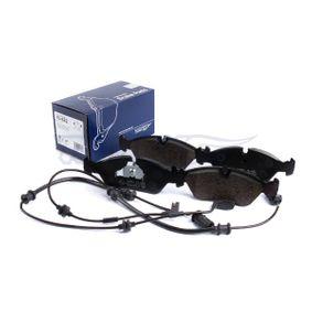 Bromsbeläggssats, skivbroms TOMEX brakes Art.No - 10-78 OEM: 8E0698451B för VW, AUDI, FORD, SKODA, SEAT köp