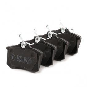 TOMEX brakes Bromsbeläggssats, skivbroms 425233 för VW, AUDI, FORD, RENAULT, PEUGEOT köp