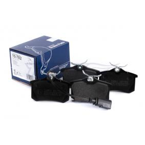 Bromsbeläggssats, skivbroms TOMEX brakes Art.No - 10-782 OEM: 7M3698451A för VW, AUDI, SKODA, SEAT köp