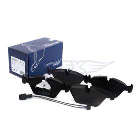 TOMEX brakes 10-782 Bromsbeläggssats, skivbroms OEM - 7M3698451A AUDI, SEAT, SKODA, VW, VAG, A.B.S., FENOX, STARK billigt